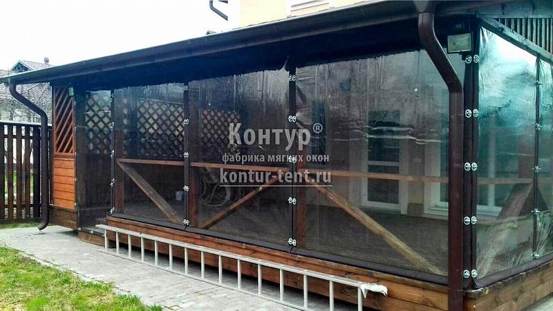 Мягкие окна (шторы пвх) для террасы в московской области - н.